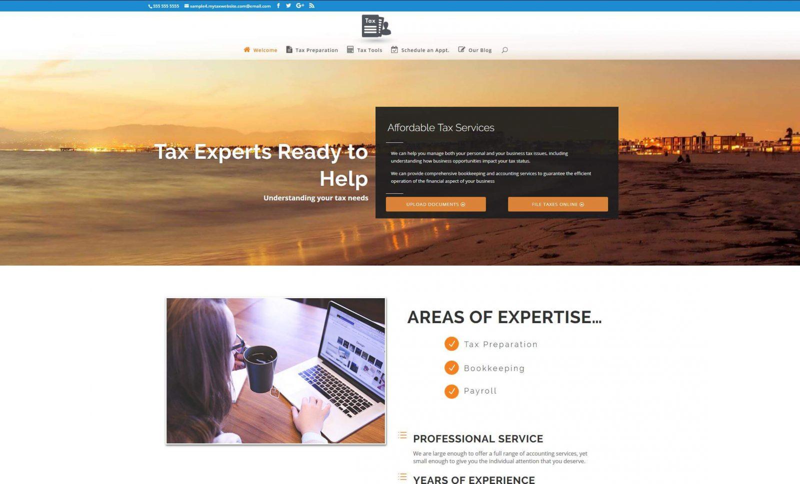 Tax Preparer Websites