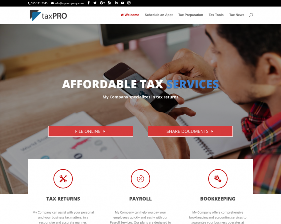Tax Preparer Websites